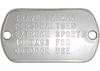 Outdoor Dog Tag