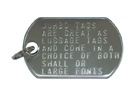 key ring Large Font
